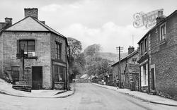 The New Road c.1955, Stoney Middleton