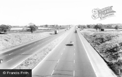 M1 Motorway c.1965, Stony Stratford