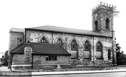 Parish Church Of St Mary And St Luke c.1955, Stony Stratford