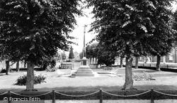 The Memorial, Horsefair Green c.1965, Stony Stratford