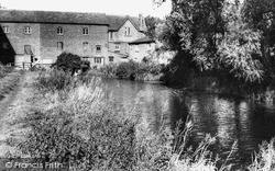 The River And Mill c.1960, Stony Stratford
