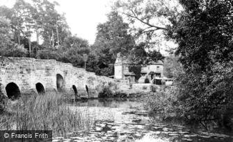 Stopham, Bridge 1932