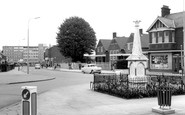 Stopsley, the Memorial c1965