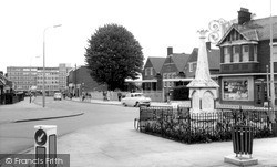 Stopsley, The Memorial c.1965