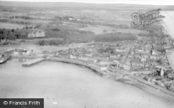 Stornoway, From The Air c.1955