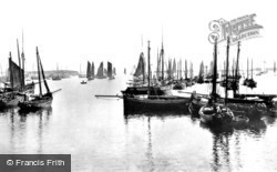 Stornoway, The Herring Fleet 1890