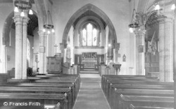 Storrington, Church Interior c.1955