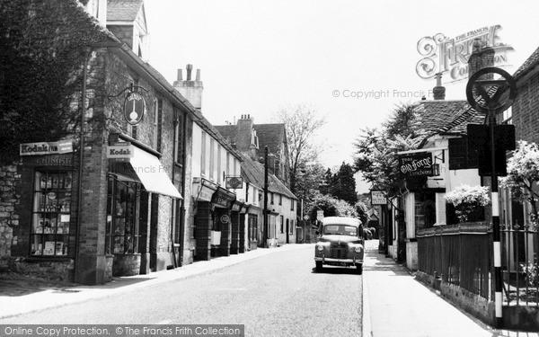 Photo of Storrington, Church Street c.1955
