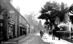 Storrington, Church Street c.1960