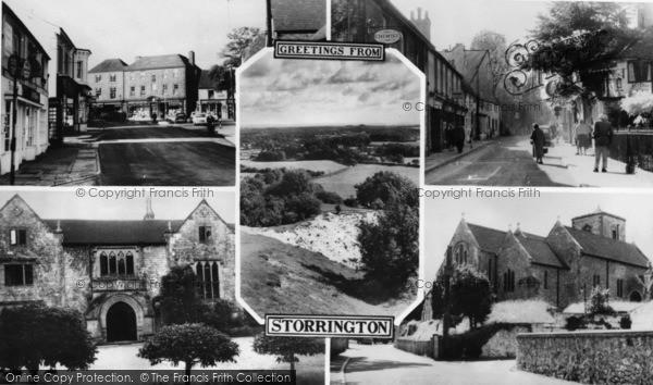 Photo of Storrington, Composite c.1960