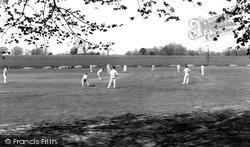Storrington, Cricket c.1965