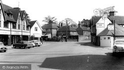 Storrington, Crossroads c.1965