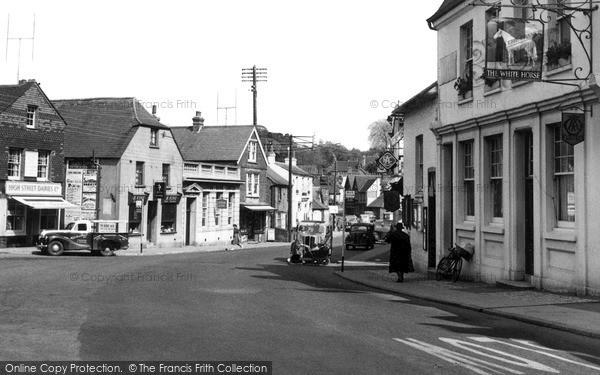 Photo of Storrington, East Street c.1955