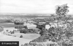 Storrington, From The Downs c.1955