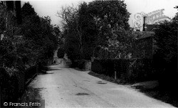 Storrington, Greyfriars Lane  c.1965