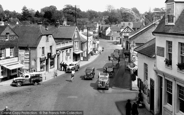 Photo of Storrington, High Street c.1955