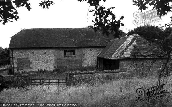Photo of Storrington, Kithurst Barn c.1955