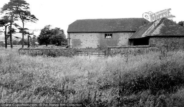 Photo of Storrington, Kithurst Barn c.1955