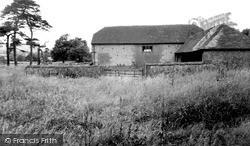 Storrington, Kithurst Barn c.1955