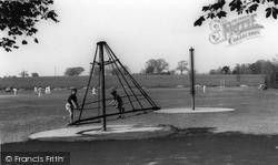 Storrington, Recreation Ground c.1955