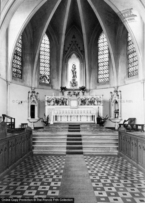 Photo of Storrington, Roman Catholic Church Interior c.1955