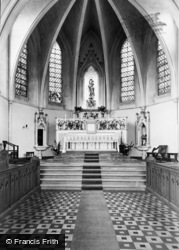 Storrington, Roman Catholic Church Interior c.1955