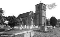 Storrington, St Mary's Church c.1955