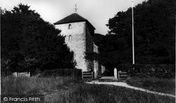 Storrington, St Mary's Church c.1960
