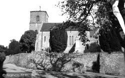 Storrington, St Mary's Parish Church c.1960