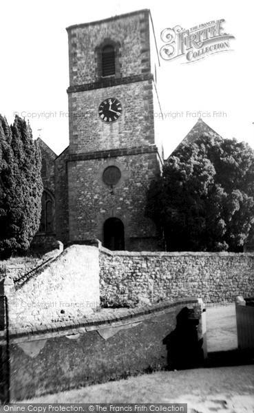 Photo of Storrington, St Mary's Parish Church c.1960