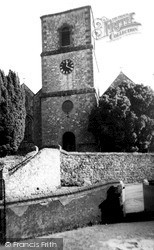 Storrington, St Mary's Parish Church c.1960