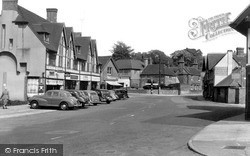 Storrington, The Colonnade c.1955