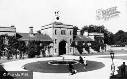 Storrington, The Courtyard, Parham House c.1960