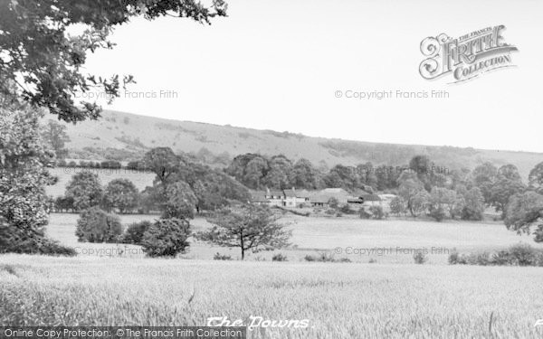 Photo of Storrington, The Downs c.1955