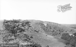 Storrington, The Downs c.1955