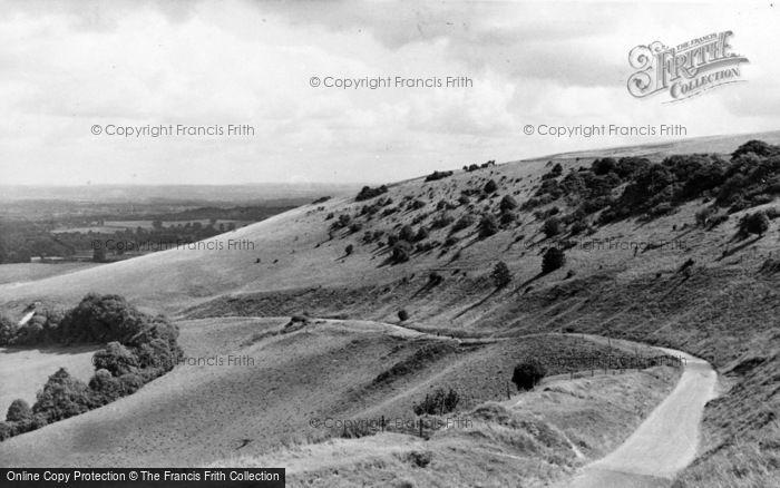 Photo of Storrington, The Downs, Chantry c.1955