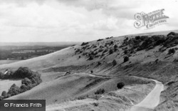 Storrington, The Downs, Chantry c.1955