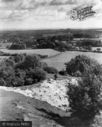 Storrington, The Downs, Greyfriars c.1955