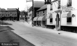 Storrington, The Half Moon c.1965