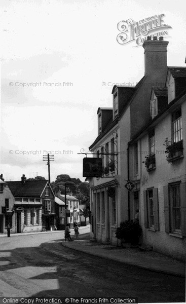 Photo of Storrington, The White Horse c.1955