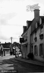 Storrington, The White Horse c.1955
