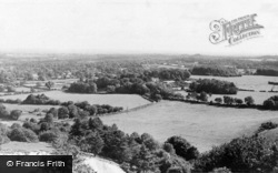 Storrington, View From The Downs c.1955