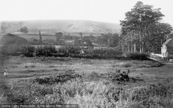 Photo of Storrington, View Towards Kithurst 1894