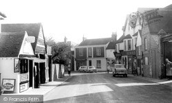 Storrington, West Street c.1960
