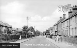 Stotfold, Regent Street c.1955