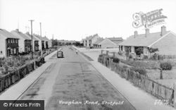 Stotfold, Vaughan Road c.1960