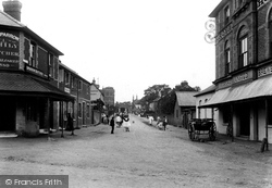 Stoughton, Barracks Road 1906