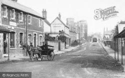 Stoughton, Barracks Road 1908