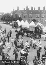 Stoughton, Barracks, the Band 1906