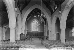 Stoughton, Emmanuel Church Interior 1906